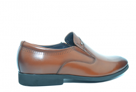 Pantofi Barbati Piele Naturala Maro Ermin B000473