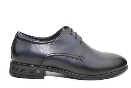 Pantofi Barbati Piele Naturala Bleumarin Enrique B000511
