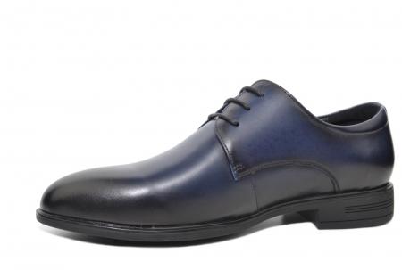 Pantofi Barbati Piele Naturala Bleumarin Enrique B000512
