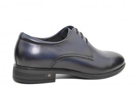 Pantofi Barbati Piele Naturala Bleumarin Enrique B000513