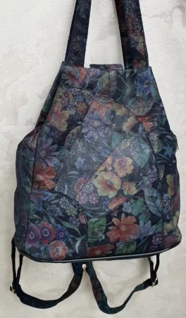 Rucsac Dama Piele Naturala Multicolor Clarisa G003607