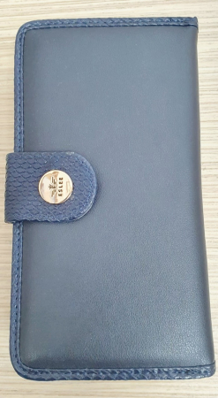 Portofel Dama Piele Bleumarin Satine P000110