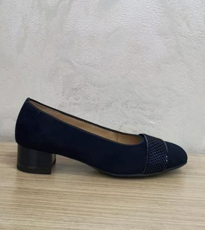 Pantofi cu toc Piele Naturala Bleumarin Ara Lizelle D026481
