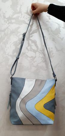 Geanta Dama Piele Multicolora Bega G005247