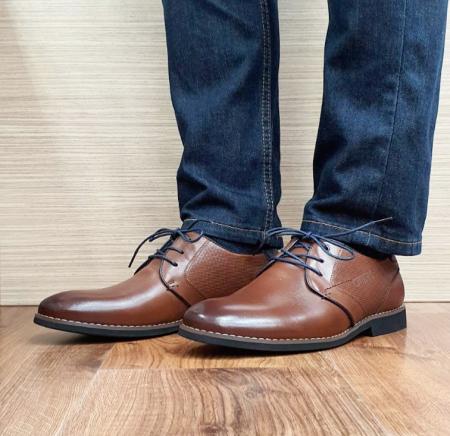 Pantofi Barbati Piele Naturala Otter Maro Narcis B001042