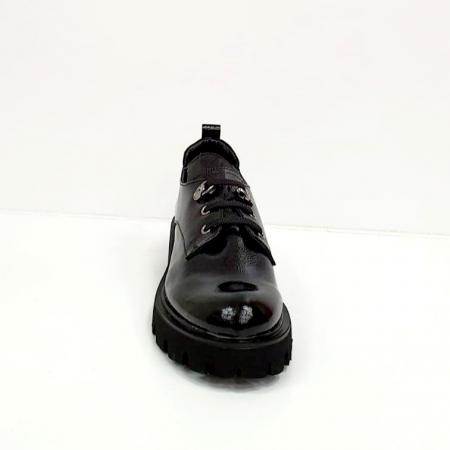 Pantofi Casual Piele Naturala Negri Amarna G026511