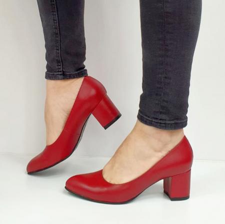 Pantofi cu toc Piele Naturala Grena Beatriz G026542