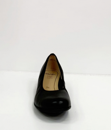 Pantofi cu toc Piele Naturala Negri Giovanna D026551
