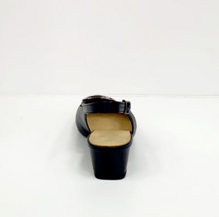 Pantofi Dama Piele Naturala Bleumarin Ara Karina D026569