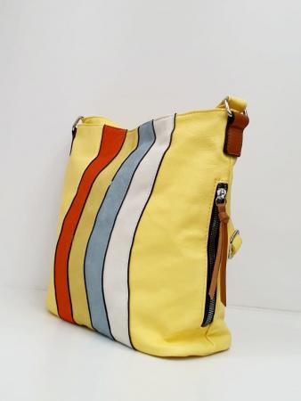 Geanta Dama Piele Multicolora Bega G006642