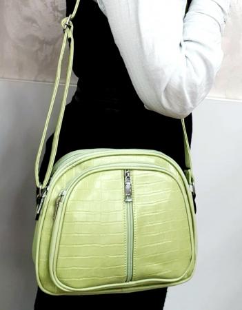 Geanta Dama Piele Verde Larisa G007245