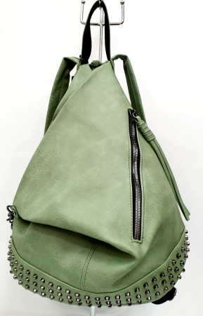 Rucsac Dama Piele Verde Mayara G007340