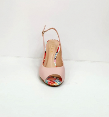 Sandale Dama Piele Naturala Roz Epica Graziela D027018