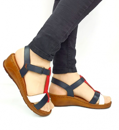 Sandale Dama Piele Naturala Negre Marilena D027020