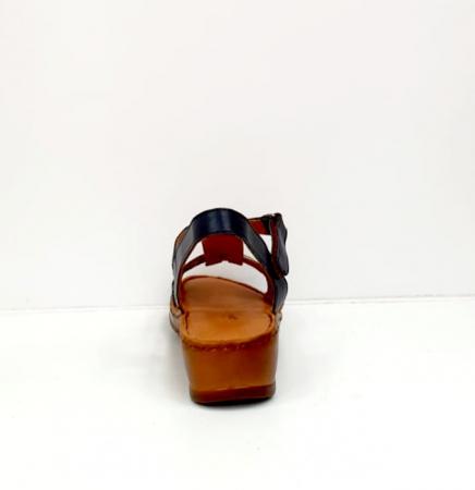 Sandale Dama Piele Naturala Negre Marilena D027029
