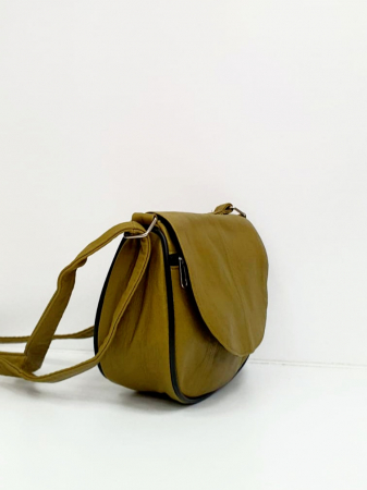 Geanta Dama Piele Naturala Verde Paloma G00836 [1]