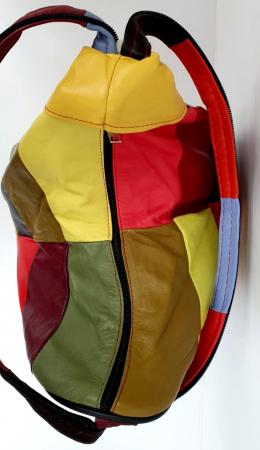 Rucsac Dama Piele Naturala Multicolora Seana G00844 [4]