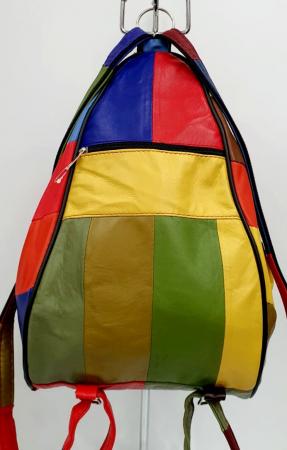 Rucsac Dama Piele Naturala Multicolora Seana G00847 [3]