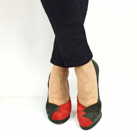 Pantofi cu toc Piele Naturala Rosi Guban Ermiona D02740 [3]