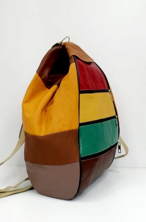 Rucsac Dama Piele Naturala Multicolor Seana G00922 [1]