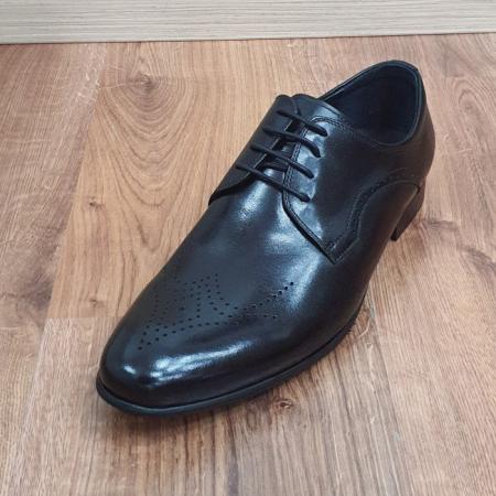 Pantofi Barbati Piele Naturala Negri Corneliu B000838