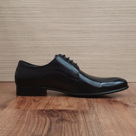 Pantofi Barbati Piele Naturala Negri Corneliu B000836