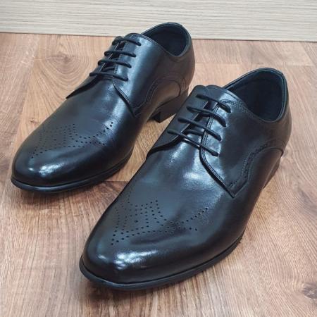 Pantofi Barbati Piele Naturala Negri Corneliu B000834