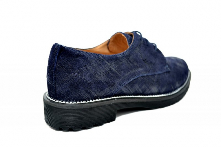 Pantofi Oxford Piele Naturala Bleumarin Orana D017423