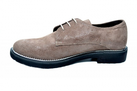 Pantofi Oxford Piele Naturala Caffee Orana D017451