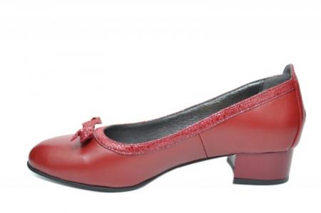 Pantofi cu toc Piele Naturala Grena Moda Prosper Adina D019101