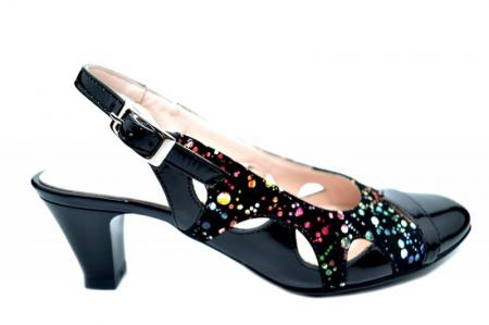Pantofi Dama Piele Naturala Negri Adrina D017100