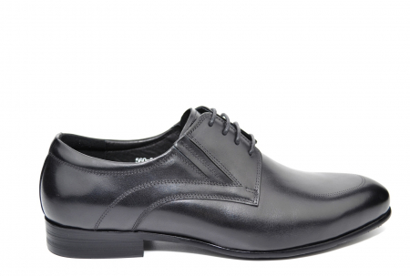 Pantofi Barbati Piele Naturala Negri Andy B000140