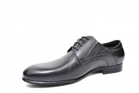 Pantofi Barbati Piele Naturala Negri Andy B000142