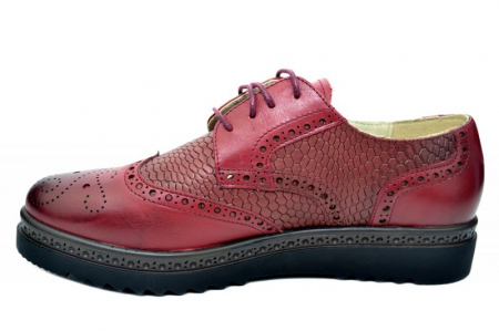 Pantofi Oxford Piele Naturala Grena Anouk D017861