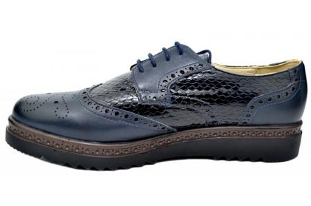 Pantofi Casual Piele Naturala Bleumarin Anouk D01787 [1]