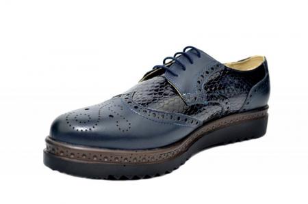 Pantofi Casual Piele Naturala Bleumarin Anouk D01787 [2]
