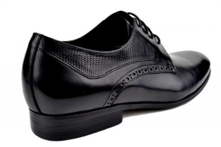 Pantofi Barbati Piele Naturala Negri Benjamin B000033
