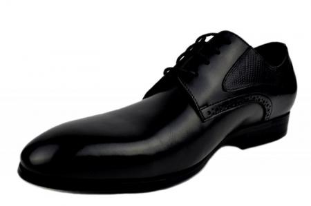 Pantofi Barbati Piele Naturala Negri Benjamin B000032