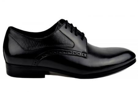 Pantofi Barbati Piele Naturala Negri Benjamin B000030