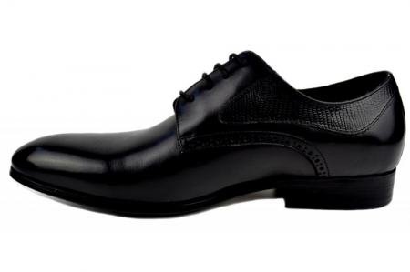 Pantofi Barbati Piele Naturala Negri Benjamin B000031