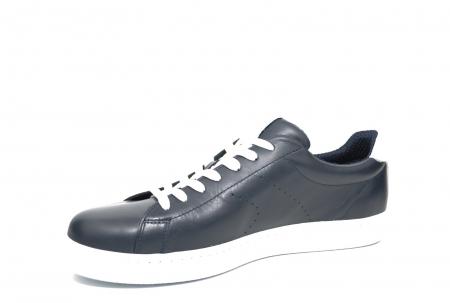 Pantofi Barbati Casual Piele Bleumarin BIT Beckham B00017 [2]