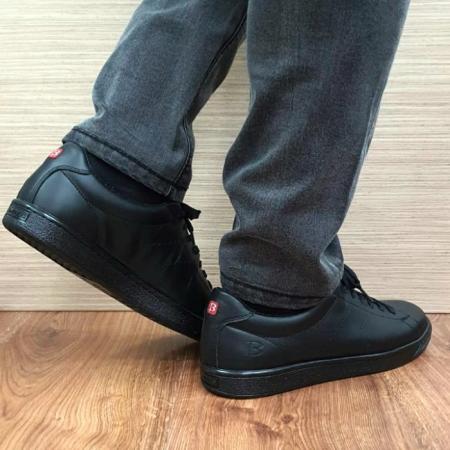 Pantofi Barbati Piele Naturala BIT Negri Beckham B000183