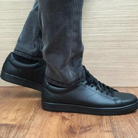 Pantofi Barbati Piele Naturala BIT Negri Beckham B000182