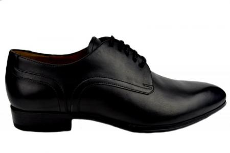 Pantofi Barbati Piele Naturala Negri Denis Lucas B00008 [0]