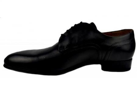 Pantofi Barbati Piele Naturala Negri Denis Lucas B000081