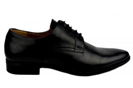 Pantofi Barbati Piele Naturala Negri Denis Mason B000070