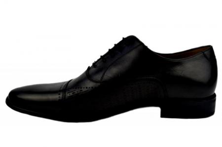 Pantofi Barbati Piele Naturala Negri Denis Noah B000091