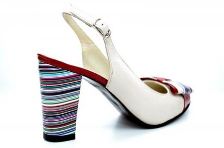 Pantofi Dama Piele Naturala Bej Moda Prosper Denise D011082