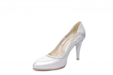 Pantofi cu toc Piele Naturala Bej Moda Prosper Gia D02023 [2]