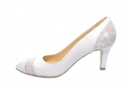 Pantofi cu toc Piele Naturala Nude Guban Lorrany D018431